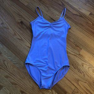 Lavender Balera Pinch Front High Back Leotard